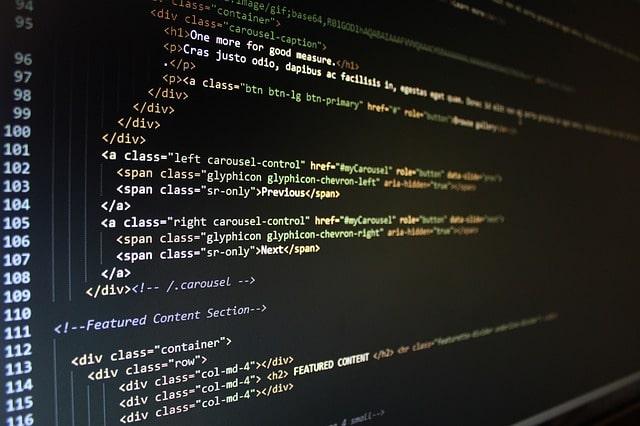 website-code-html-coding