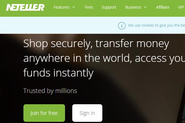 neteller money transfer limits
