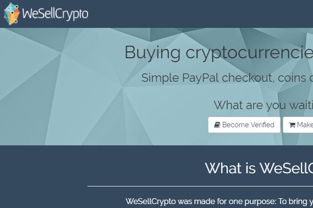 WeSellCrypto
