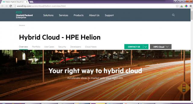 HP-cloud-service