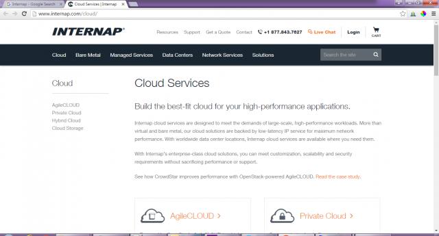 Internap-cloud-service