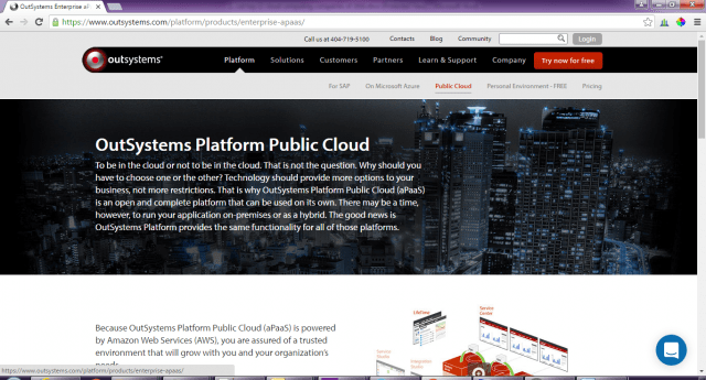 OutSystems-platform-cloud