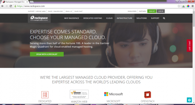 Rackspace-cloud-service
