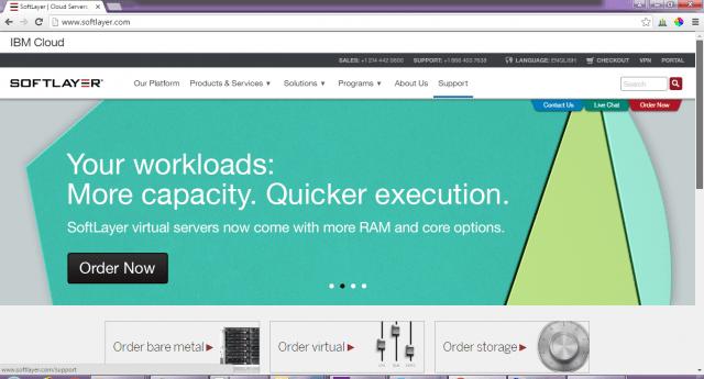 Softlayer-cloud-service