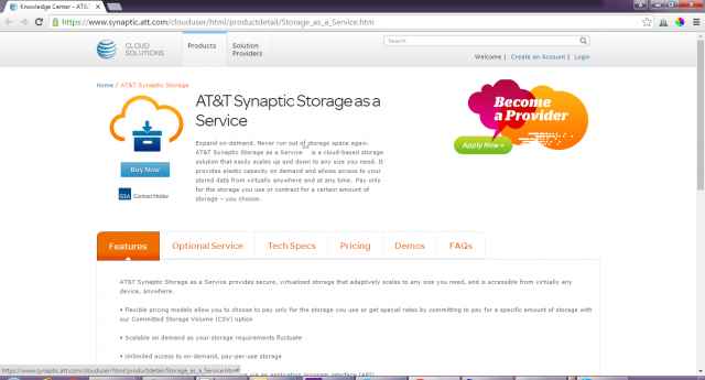 Synaptic-cloud-storage