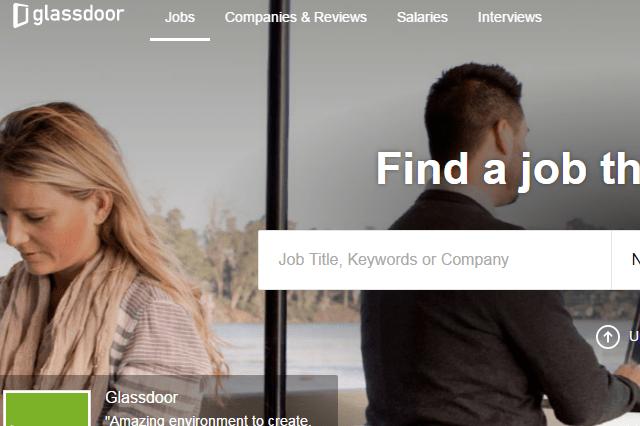 Glassdoor-search-job