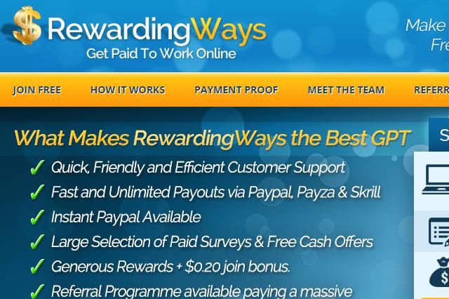 Rewardingways
