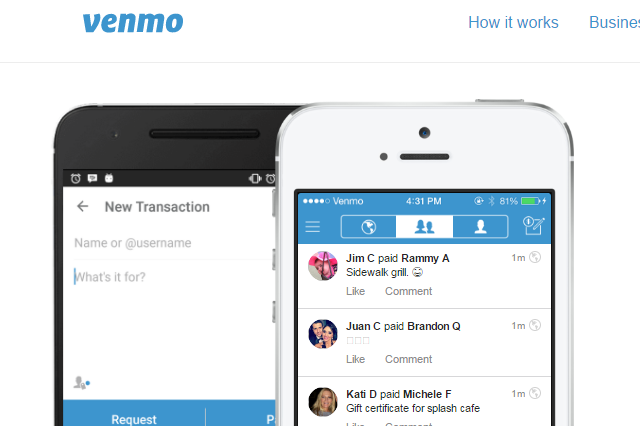 Venmo-money-transfer