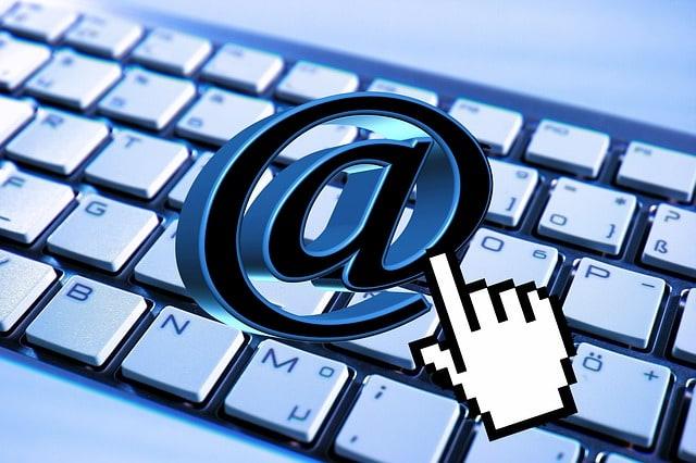 email-keyboard-computer-mail-at