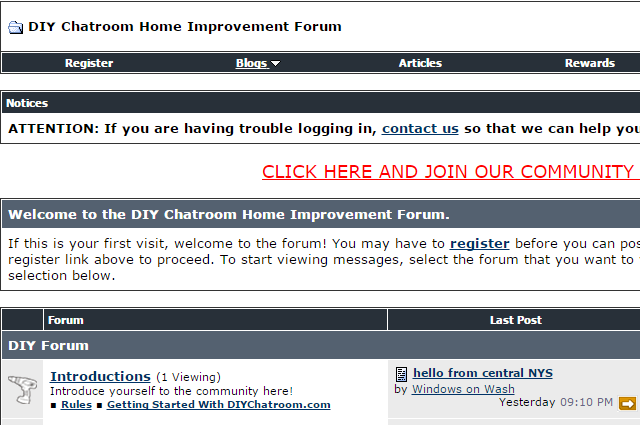 DIY-Chatroom