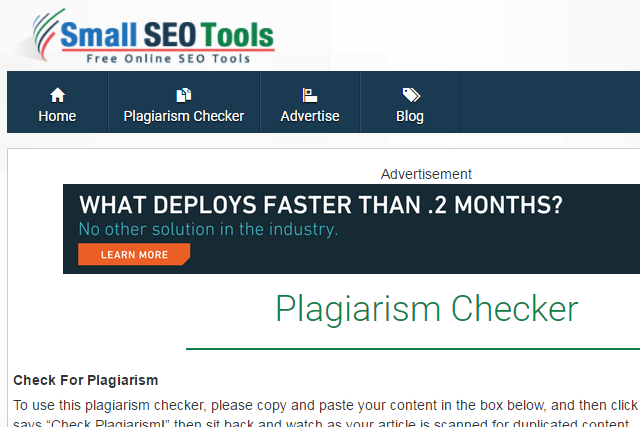plagiarism test free