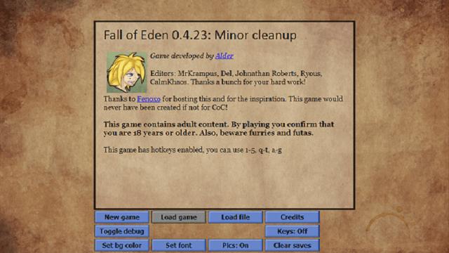 Fall of Eden
